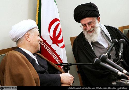 هاشمی و رهبری