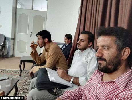 تجلیل امام جمعه کازرون از خبرنگاران